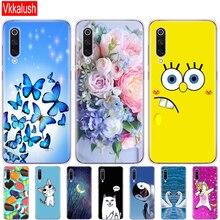 case for xiaomi mi 9 cover Cartoon Silicon Soft TPU Cover For Xiaomi Mi9 SE Case Phone Shell bumper etui