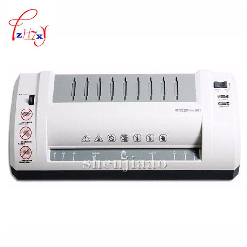 3893 laminator A4 laminator laminating machine,students card,worker card,office file laminator 1pc