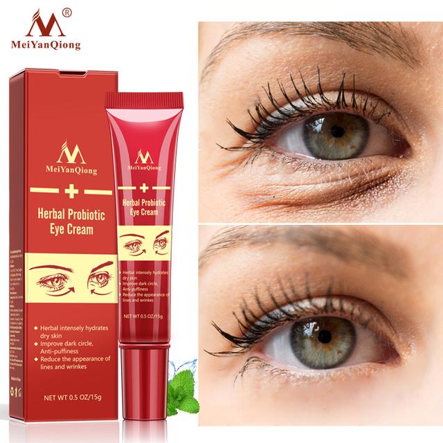 Producto de Importación  YAN QIONG Crema de ojos Colageno Anti-arrugas Anti-envejecimiento hidratar la piel seca removedor de Círculos oscuros ojos contra hinchazón y bolsas