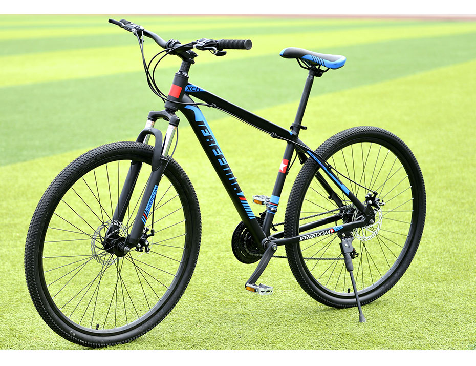 HTB1K3sXgrZnBKNjSZFhq6A.oXXaN Love Freedom 21/24 Speed Aluminum Alloy Bicycle  29 Inch Mountain Bike Variable Speed Dual Disc Brakes Bike Free Deliver