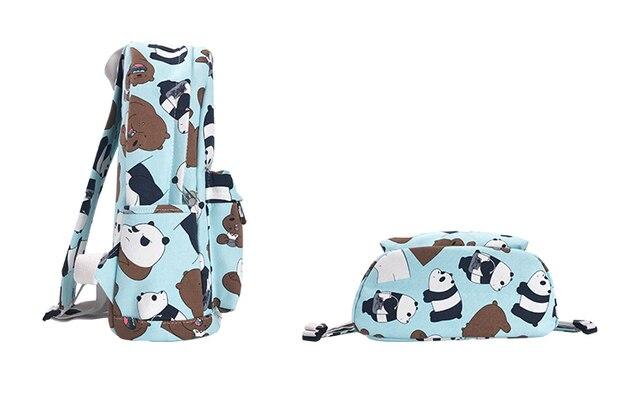 Рюкзак Панда и бурый медведь 3