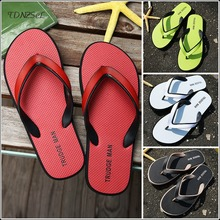 2020 Summer New Fashion Flip Flops Casual Rubber Anti-slip Shoes Men Sandals Male Flat Beach Slippers Women PVC Outdoor Slides