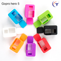 New Gopro Camera Accessories Gopro Hero 5 Soft Silicone Case+Soft Silicone Lens Cover Lid Rubber Shell for GoPro Hero5 accessory