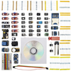 2017 Starter Kit For Arduino Sensor Module Resistance SD Reader Module Passive Buzzer Key Switch Accessories