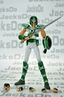 Jacksdo Saint Seiya Myth Cloth Sancutary Solider X 2 Action Figure And Accessory