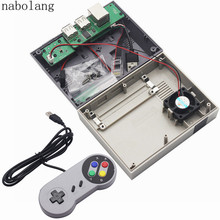 Buy online Nabolang Mini Nes Retroflag Nespi Case Designed For Raspberry Pi 3, 2and B+ with Fan DIY game & Packing box & 1pcs USB gamepad