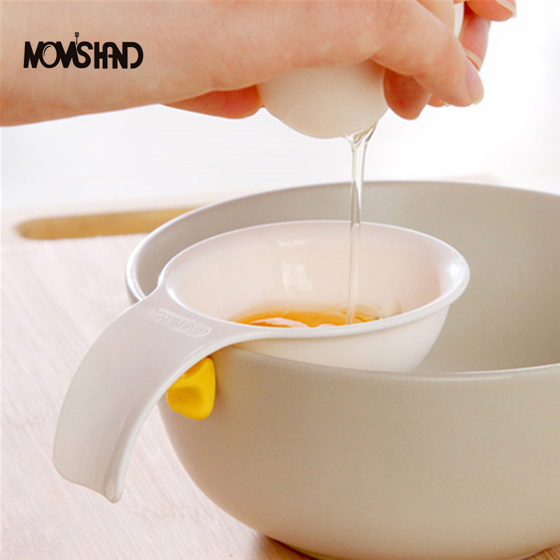 Mini Egg Yolk White Separator With Silicone Holder