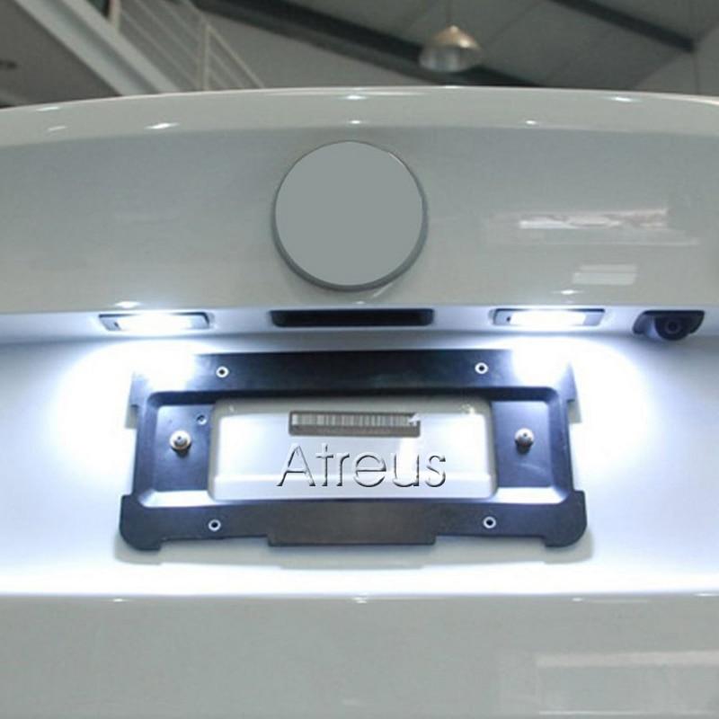2Pcs Avtomobil Lisenziya Lövhə İşıq 12V SMD3528 LED nömrəli - Avtomobil işıqları - Fotoqrafiya 6