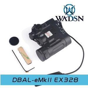 Image 4 - WADSN Tactical Light DBAL IR Red Laser Airsoft Hunting Lamp DBAL EMKII Flashlight DBAL D2 DBAL Weapon Gun Light
