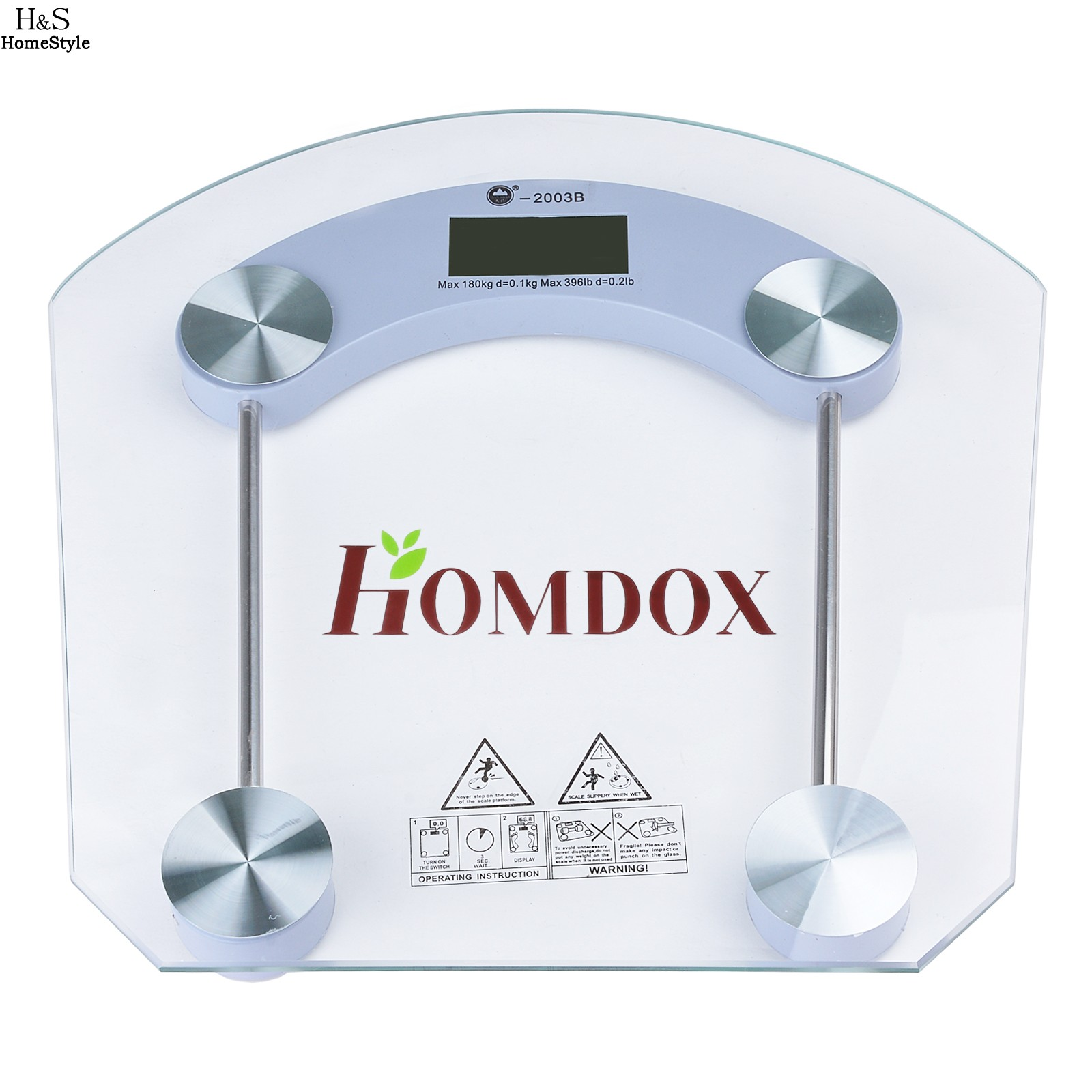 Digital LCD Glass Body Losing Weight Scale Home Bathroom Geometric Scale High Precision 150kg/7kg ...