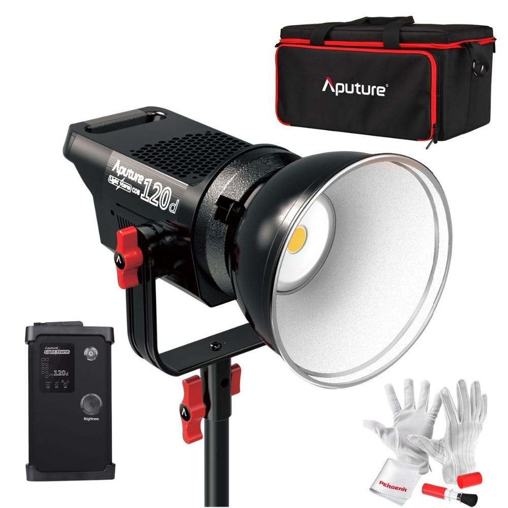 Aputure licht sturm cob 120d 135 watt 6000 karat led kontinuierliche video licht cri97 + tlci97 + 14000lux@0.5m bowens berg mit fernbedienung