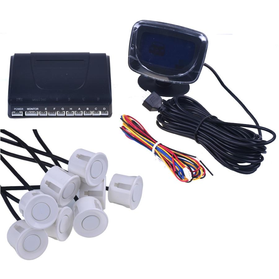 Avtomobil dayanacağı Sensoru tərs geri yedəkləmə radarı LCD - Avtomobil elektronikası - Fotoqrafiya 2