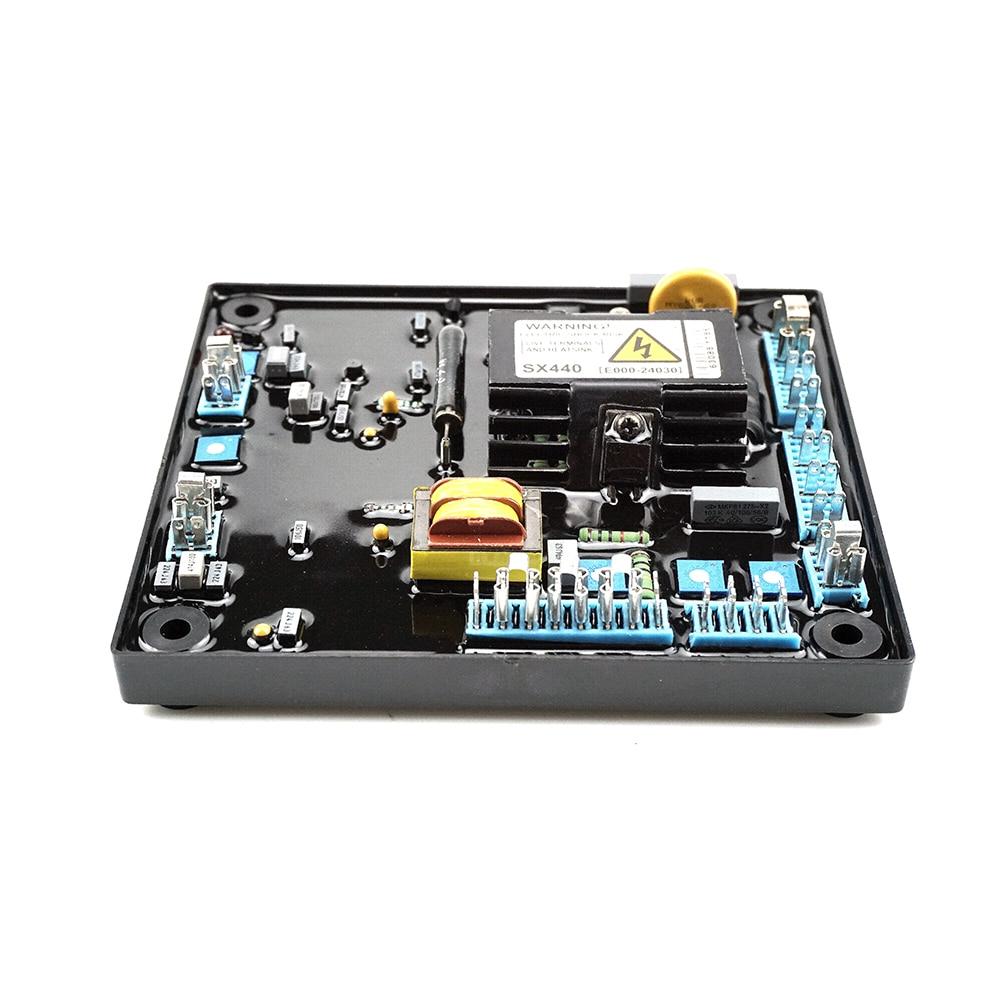 AVR SX440 автоматический регулятор напряжения высокая производительность стабильная Замена для генератора стабилизаторы электронный компонент
