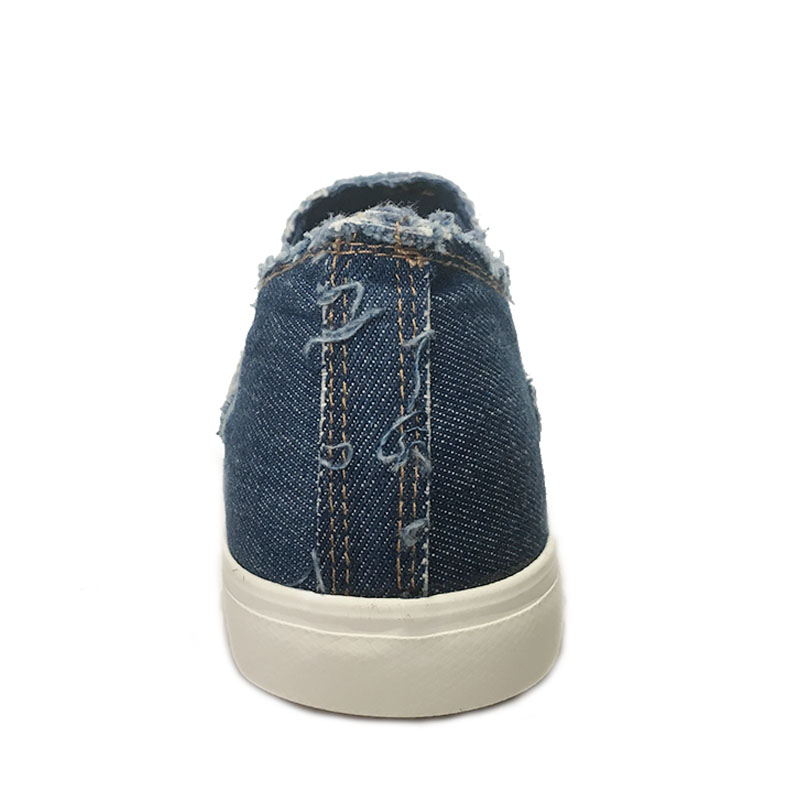 New Denim Shoes Men Non slip Canvas Shoes High Quality Men 39 s Casual Shoes Male Brand Loafers Breathable Fashion Style K037 in Men 39 s Casual Shoes from Shoes