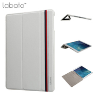 Labato Smart Case For IPad 9 7 Inch 2017 Case PU Leather Luxury Quality Magnet Smart