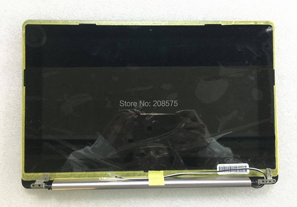 Free Shipping! New A+ 11.6'' inch LCD Display Panel Sreen For ASUS X202E Assembly with frame Upper half set new for asus n541l n541la q501l q501la lcd display video cable 1422 01j3000 free shipping