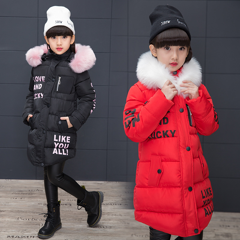 2018 Children's Winter Cotton Warm Jacket Cotton-padded Jacket Clothes Winter Jacket Park for A Girl Lively Winter Coat 2018 children s winter cotton warm jacket coats cotton padded clothes girls winter jackets park for a girl winter outwear coat