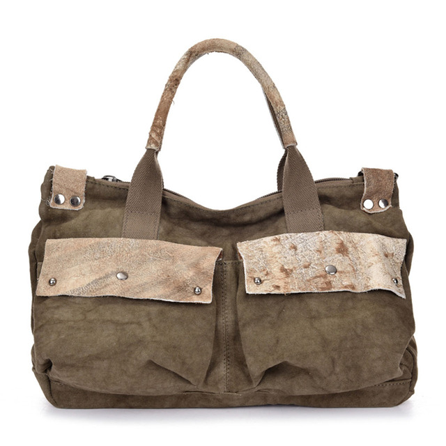 Fashion Casual Men Canvas Satchels Large Capacity Messenger Bags High Quality Durable Women Canvas Handbags