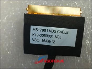 Оригинальный K19-3050001-V03 для MSI CX72 ЖК-кабель MS1796 LVDS кабель MS-1796 MS-1797 полностью протестирован