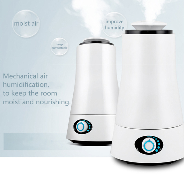 TINTON LIFE 2.5L Humidifiers Aroma Ultrasonic Humidifier 110-240V LED Light Humidifier Essential Oil Diffuser Air Humidifier Humidifiers