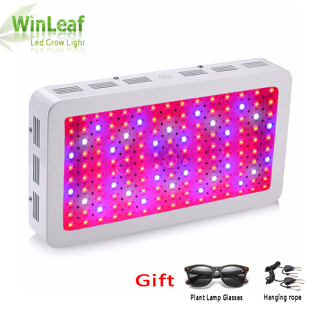 led grow plant lamp Double Chips Full Spectrum 1200W 1500W 1800W 410 730nm uv light for indoor plants LED grow light