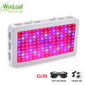 Led grow plant lamp Dubbele Chips Volledige Spectrum 1200 W 1500 W 1800 W 410-730nm uv licht voor kamerplanten LED grow light