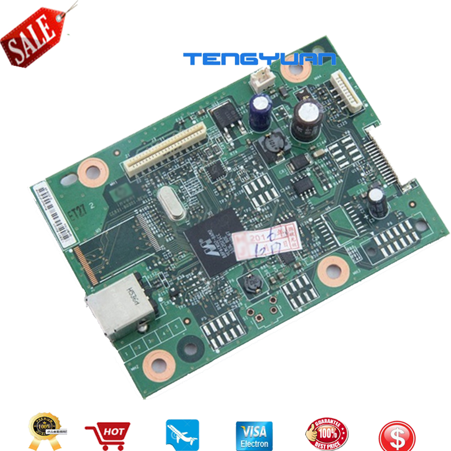 Free shipping 100% new original CE831-60001 LaserJet Pro M1130 M1132 M1136 Formatter Board Printer parts on sale free shipping ce831 60001 laserjet pro m1132 1215 1212formatter board 125a pressure roller printer parts on sale