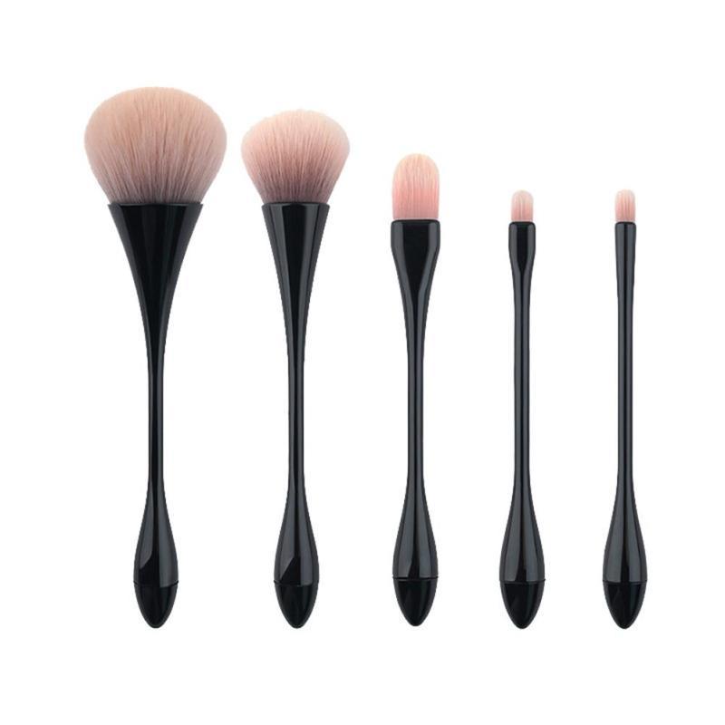 5Pcs Makeup Makeup Brushes Makeup brush set High Quality Soft Synthetic hair Professional Makeup Brush Tool Kit A4