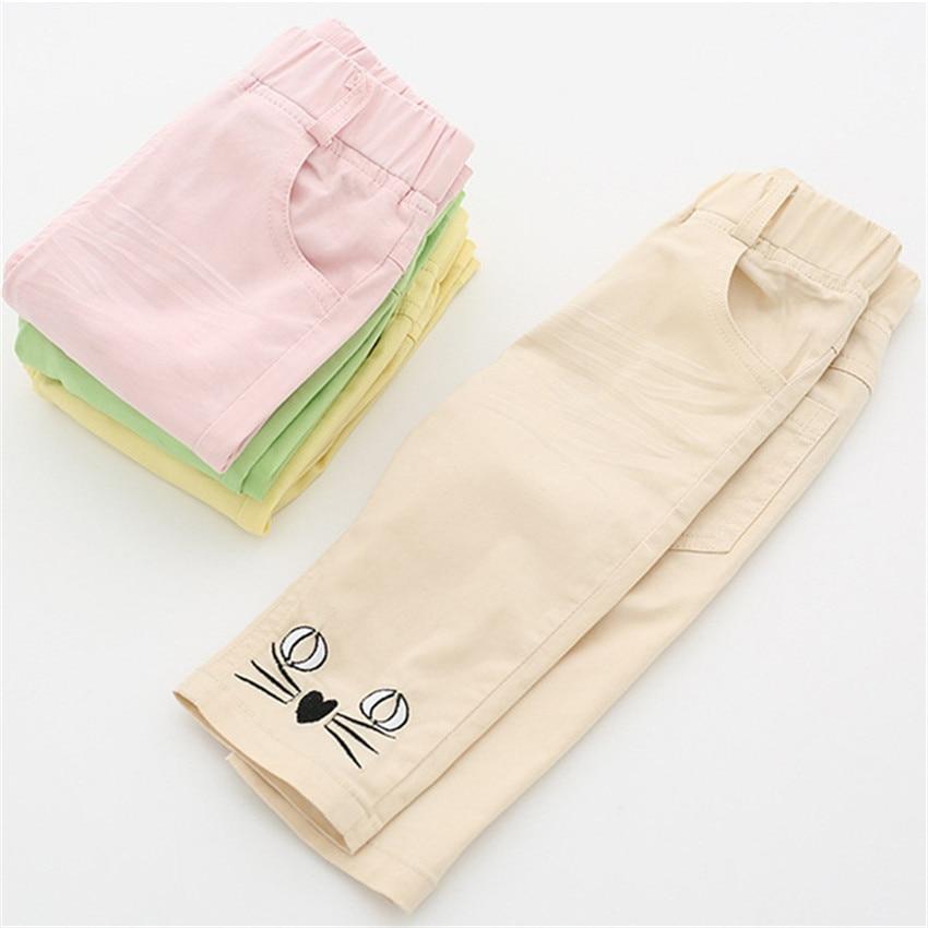 2-8 jaar kinderen meisjes capri leggings zomer meisje broek - Kinderkleding - Foto 5