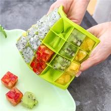 Новое высокое качество форма для льда 24 Сетка Квадратная форма формы для льда большой лед Силиконовая форма для льда Кубики DIY формы для мороженого Аксессуары для кухни