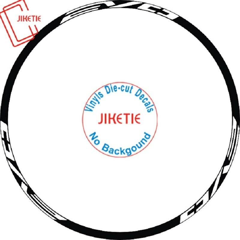 12pics/set 2Wheels Rim Mountain Bike 26 27.5 29er inch Disc wheel Reflecte Sticker MTB Wheel Decorative sticker Bike Decals