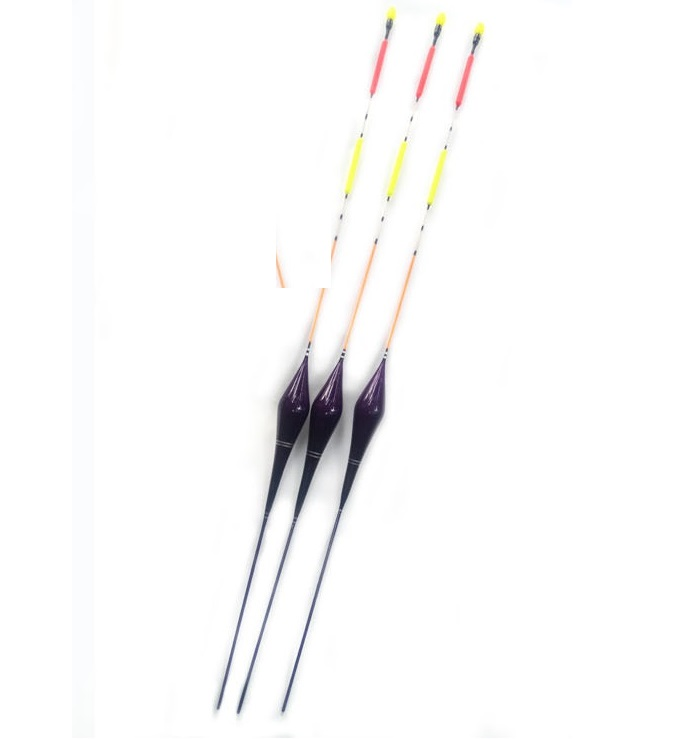 Large size float for deep water or long distance throwing fishing by telescopic rod