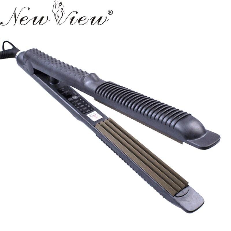 NewView En Céramique Cheveux Bigoudi Ondulé Fer Professionnel Cheveux Redressant le Fer Plat Styling Outils Redresseur