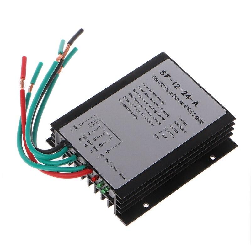 Горячая 600 Вт 12В/24В водонепроницаемый ветряной генератор контроллер заряда контроллер ветра генератор контроллер