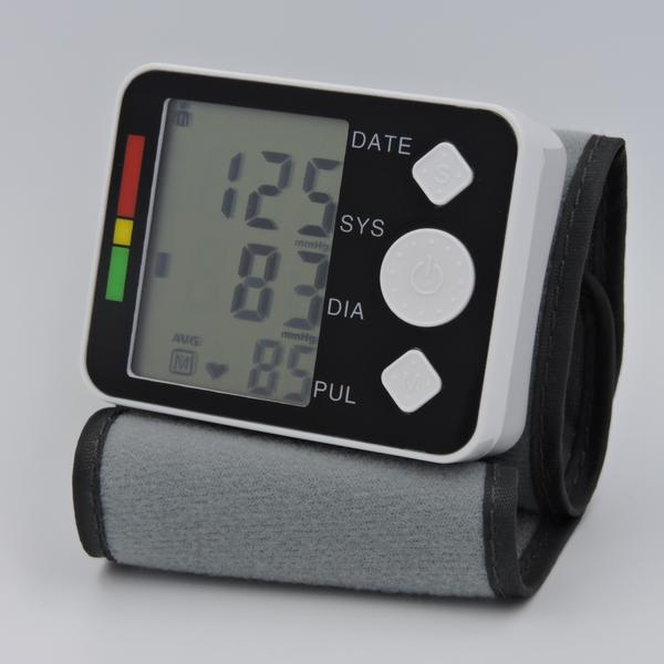 High Quality Lcd Digital Automatic Wrist Blood Pressure