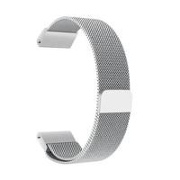 Магнитный с миланским плетением Нержавеющаясталь браслет для часов браслеты для наручных gps-часов Garmin Fenix 5x/Forerunner 935/подход S60 ремешок для ч...