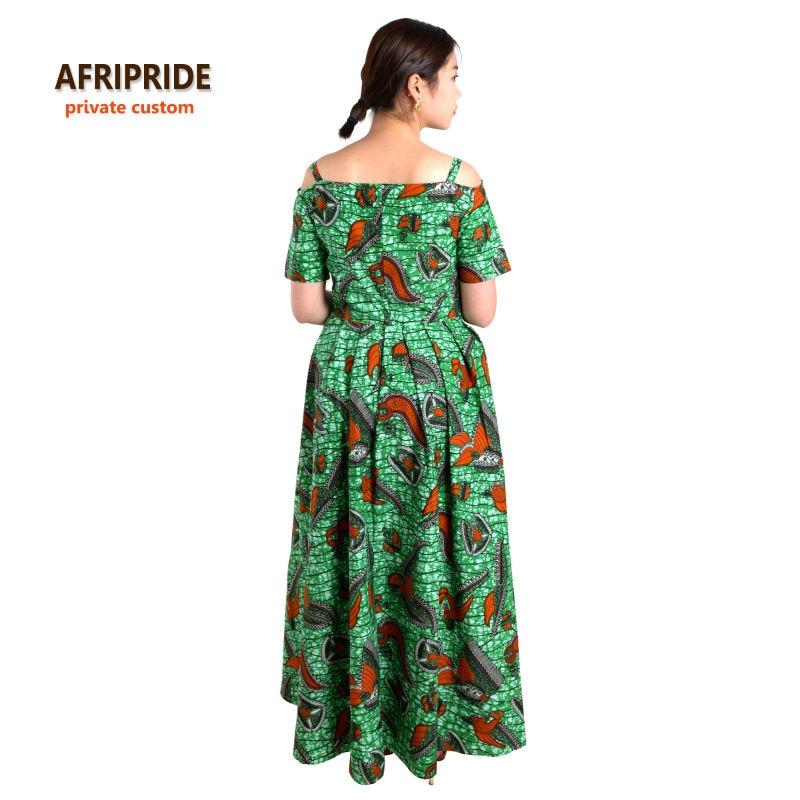 Pakaian Afrika untuk wanita AFRIPRIDE klasik tradisional lengan - Pakaian kebangsaan - Foto 4