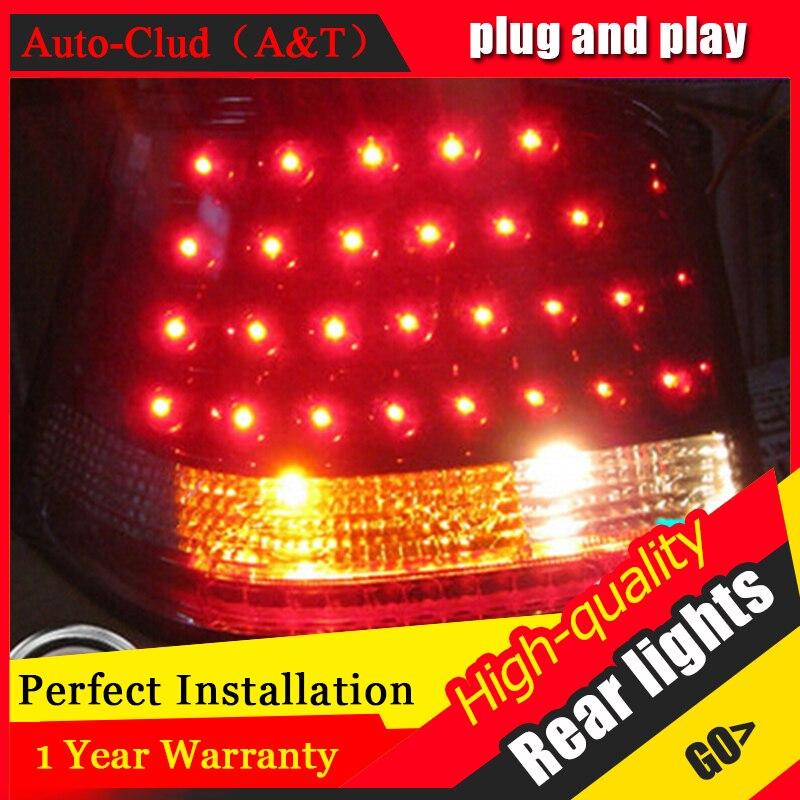 AUTO.PRO 1998-2005 vw golf 4 led car styling golf 4 led rear lights golf mk 4 rear lamps parking led taillight car led коврики в салон vw golf plus акпп 2005