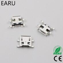 10 шт. Micro USB 5pin B Тип 0,8 мм Гнездовой разъем для мобильного телефона мини USB разъем 5-контактный разъем зарядки четыре фута разъем