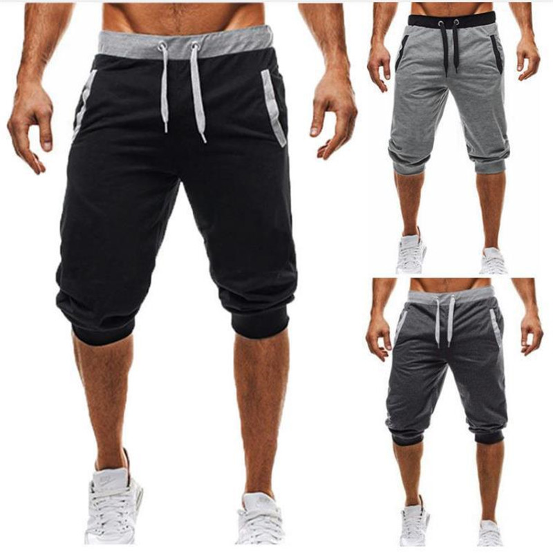 2018 New Hot Fashion Mens Casual Pocket Beach Work Casual Short Trouser Shorts Pants For Male High Quality Drop Shipping To Suit The PeopleS Convenience Men's Clothing
