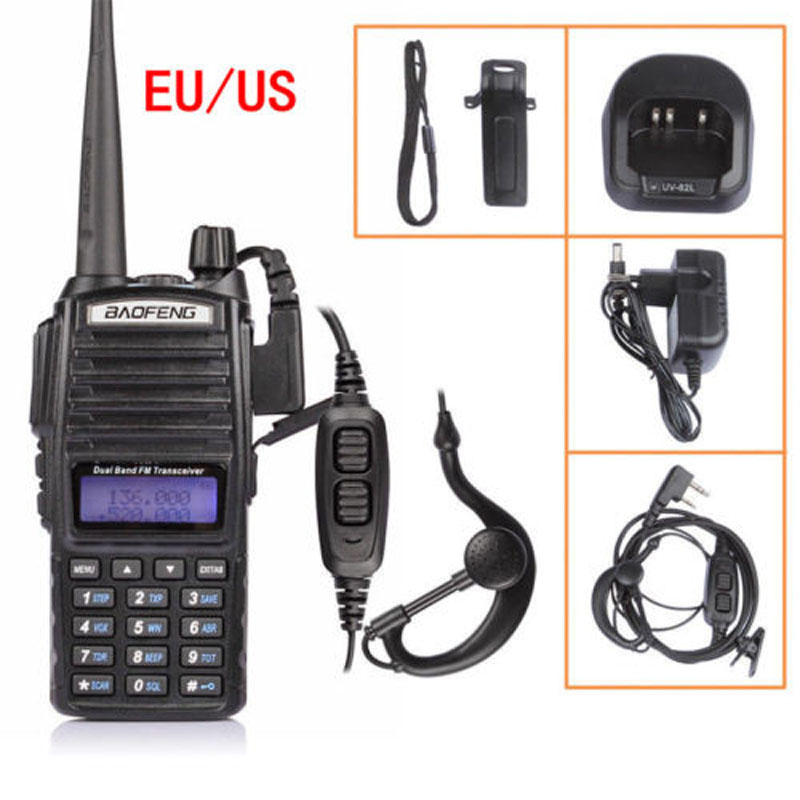 Baofeng UV-82 VHF UHF 136-174/<font><b>400</b></font>-520 <font><b>MHz</b></font> Ham Two-way <font><b>Radio</b></font> Walkie Talkie free shipping image