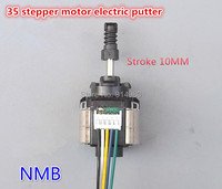 2 Phase 4 Wire Stepper Motor 35 Imported Miniature Electric Retractable Lever Positioning Screw Pushrod Motor