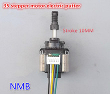 2 phase 4 wire stepper motor 35 imported miniature electric retractable lever positioning screw pushrod motor stepping motor