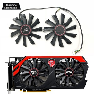 New PLD10010S12HH 95mm 4Pin Graphics Card Cooling Fan for MSI GTX 780Ti/780/760/750Ti R9 290X/290/280X/280/270X GAMING Cooler(China)