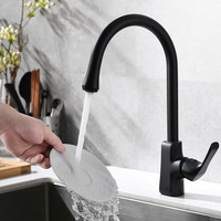 OEM export kitchen faucet black matte in North America
