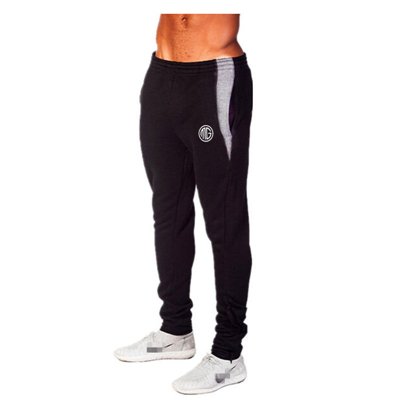 Mens Gyms Pants For Bodybuilding Fitness Loose and Comfortable Workout Trouser Lycra Cotton High Elastic Sportwear Sweat Pants