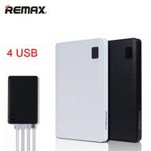 Remax-Proda Portátil Móvil banco de la energía 30000 mAh 4 USB Cargador de Batería Externo universal Banco de la energía de batería externa