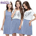 Emotion Moms New 2pcs Summer Maternity Clothes Maternity BreastFeeding dresses Nursing clothing for Pregnant Women nursing dress