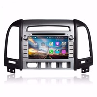 Quad Core 2 Din 7 Android 7 1 Car DVD Player For Hyundai Santa Fe 2006