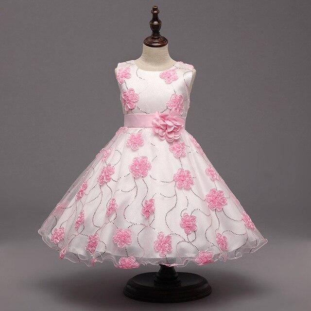 245f2a1cd4 Moda lantejoula vestidos de festa de meninas 3 anos de idade a 8 anos de  idade